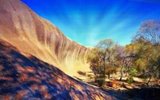 Каменная волна, Австралия — обзор