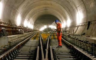 Тоннель Лечберг, Швейцария — обзор