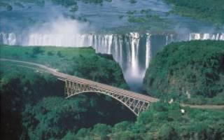 Ливингстон — что посмотреть по городам Замбии