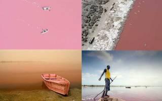 Озеро Ретба, Сенегал — обзор