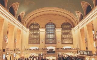 Центральный вокзал Нью-Йорка, США — обзор
