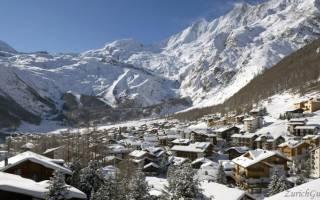 Саас-Фэ — что посмотреть по городам Швейцарии