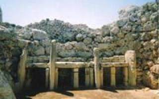 Мегалитические храмы Мальты, Мальта — обзор
