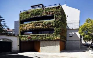 Дом-сад в Лиссабоне, Португалия — обзор