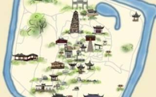Пагода на холме Тигра, Китай — обзор
