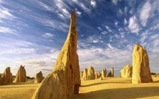 Пустыня башен, Австралия — обзор