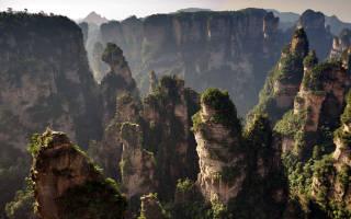 Национальный парк Чжанцзяцзе, Китай — обзор