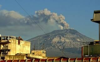 Вулкан Этна, Италия — обзор