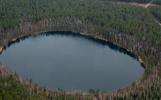 Карский кратер, Россия — обзор