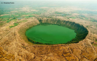 Кратер Лонар, Индия — обзор