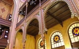 Фото галерея: Самые шикарные и знаменитые синагоги — обзор