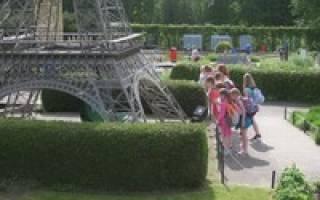 Парк Мини-Европа, Бельгия — обзор