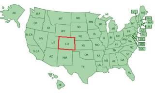 Меса Верде, США — обзор
