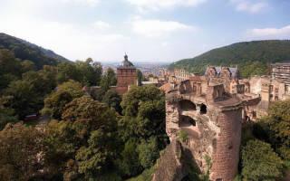 Гейдельбергский замок, Германия — обзор