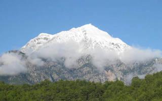 Канатная дорога Олимпос-Телеферик, Турция — обзор