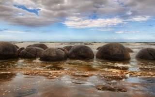 Валуны Моераки, Новая Зеландия — обзор