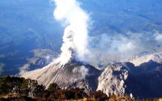 Вулкан Санта Мария, Гватемала — обзор
