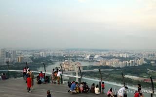 Смотровая площадка Marina Sky Park, Сингапур — обзор