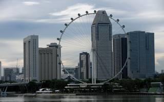 Колесо Singapore Flyer, Сингапур — обзор