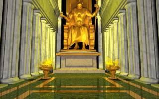 Олимпийская статуя Зевса, Греция — обзор