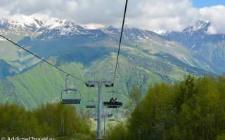 Хацвали — обзор и отзывы лыжного курорта