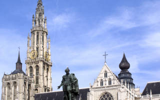 Собор Антверпенской Богоматери, Бельгия — обзор