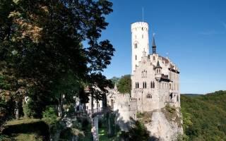 Замок Лихтенштейн, Германия — обзор