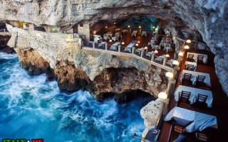 Ресторан Grotta Palazzese, Италия — обзор