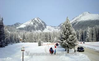 Штребске Плесо — обзор и отзывы лыжного курорта Словакии