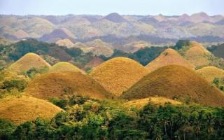 Шоколадные холмы, Филиппины — обзор