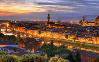 Исторический центр города Флоренция, Италия — обзор
