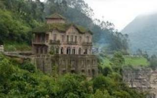 Монастыри на склонах вулкана Попокатепетль, Мексика — обзор