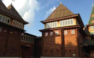 Коломенский Дворец, Россия — обзор