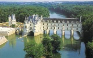 Замок Шенонсо, Франция — обзор