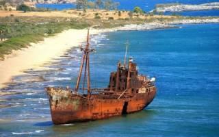 Обломки корабля Панагиотис, Греция — обзор