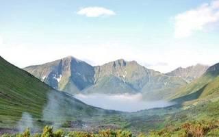Вулкан Карымшина, Россия — обзор