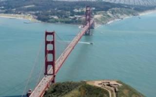 Мост Золотые Ворота, США — обзор