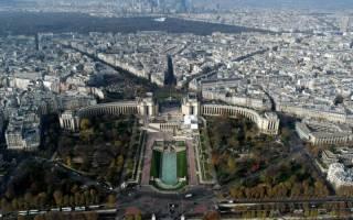 Смотровая площадка Эйфелевой Башни, Франция — обзор