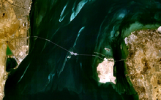 Мост короля Фахда, Саудовская Аравия — Бахрейн — обзор