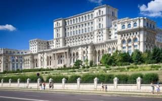 Дворец Парламента, Румыния — обзор