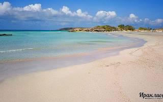 Пляж Элафониси, Греция — обзор