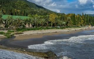 Абхазия что посмотреть в Новый Афон