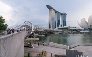 Мост Хеликс, Сингапур — обзор
