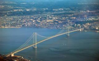 Жемчужный мост, Япония — обзор