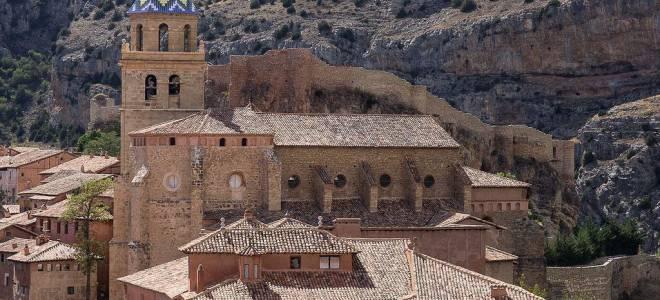 Город Альбаррасин, Испания — обзор