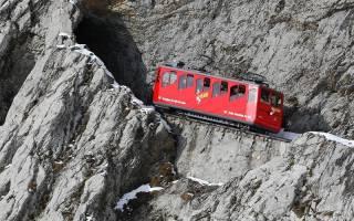 Железная дорога Пилатусбан, Швейцария — обзор