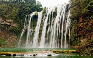 Водопад Хуангошу, Китай — обзор