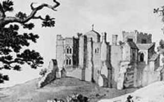 Замок Вудсток, Англия — обзор