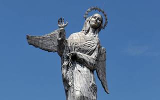 Статуя Девы Марии Китской, Эквадор — обзор