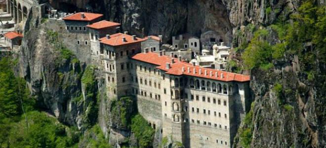 Монастырь Сумела, Турция — обзор